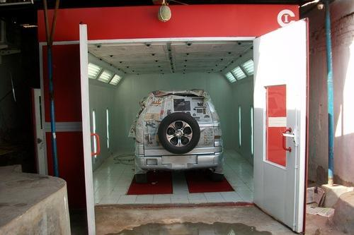 Paint Booth Services